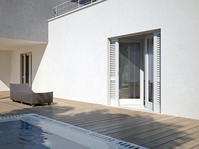 Allestimenti porte porte - Porte scorrevoli in alluminio per esterno ...